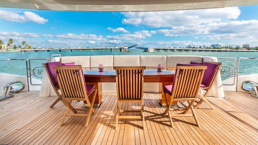 Seasonal Rates for SWEET CAROLINE Private Luxury Yacht For Charter