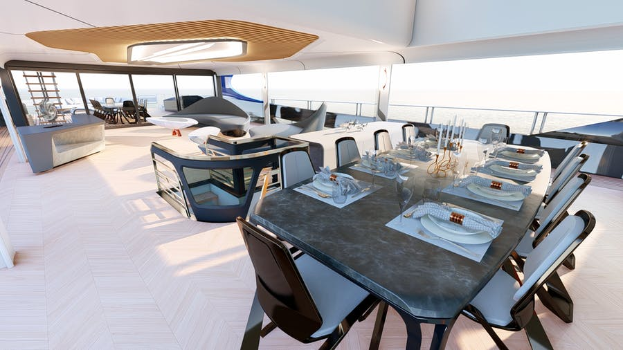 Details for ZEON Private Luxury Yacht For sale