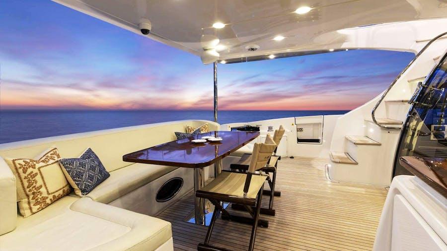 DESSERT FIRST Yacht