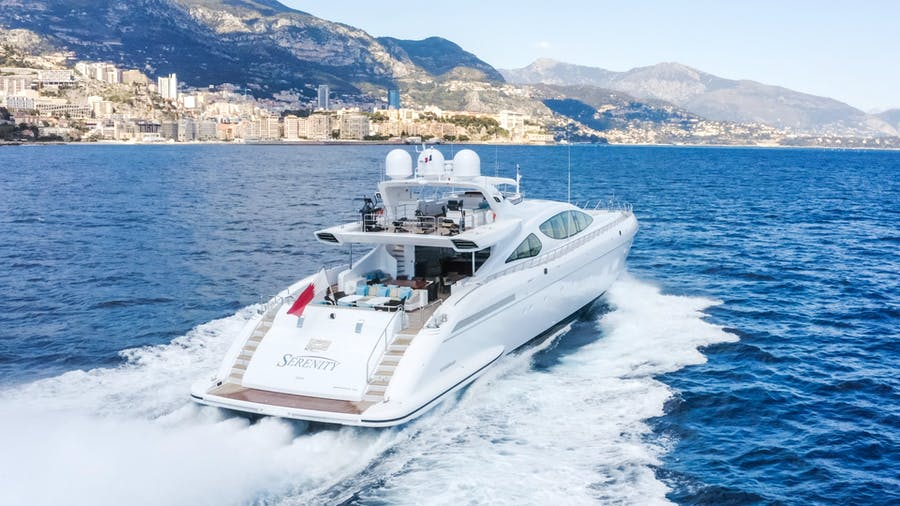 Features for SERENITY Private Luxury Yacht For sale