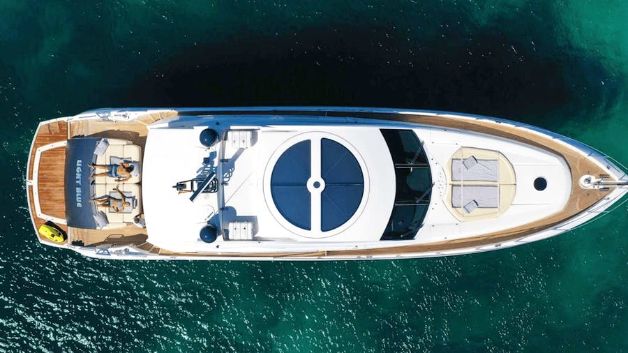 Light Blue Yacht