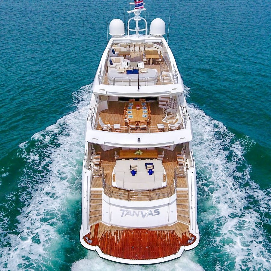 Features for TANVAS Private Luxury Yacht For sale