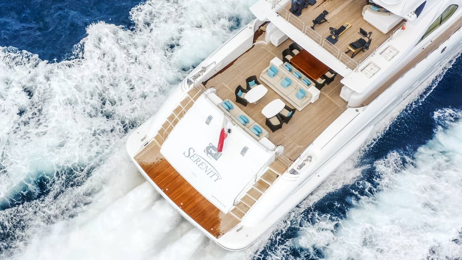 Details for SERENITY Private Luxury Yacht For sale