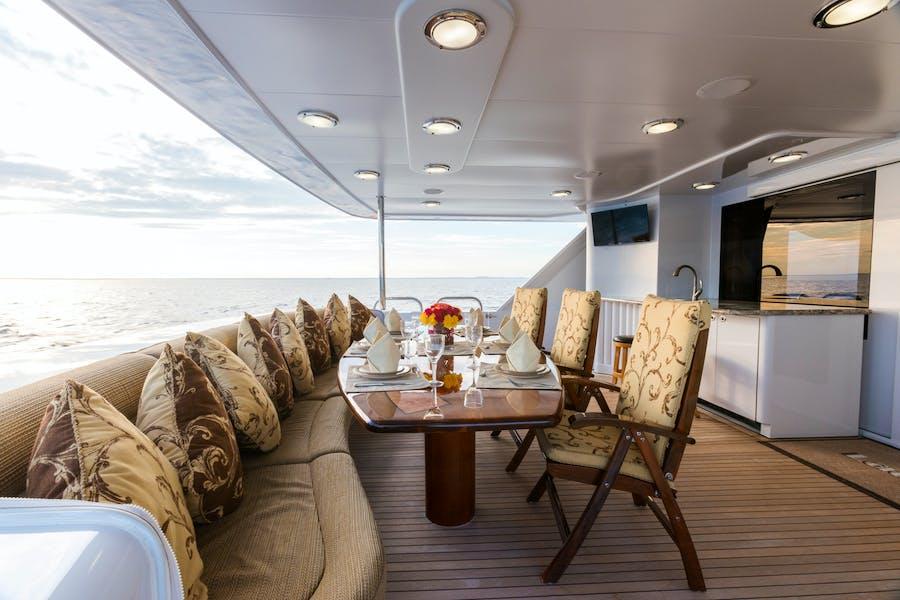 Tendar & Toys for SHOGUN Private Luxury Yacht For charter