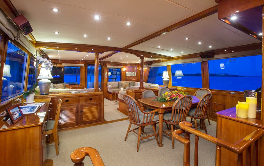 Details for CUSTOM HUNT 90'  Private Luxury Yacht For sale