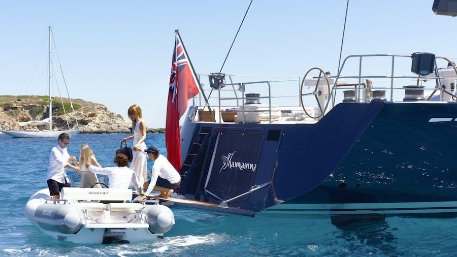 SHAMANNA Yacht