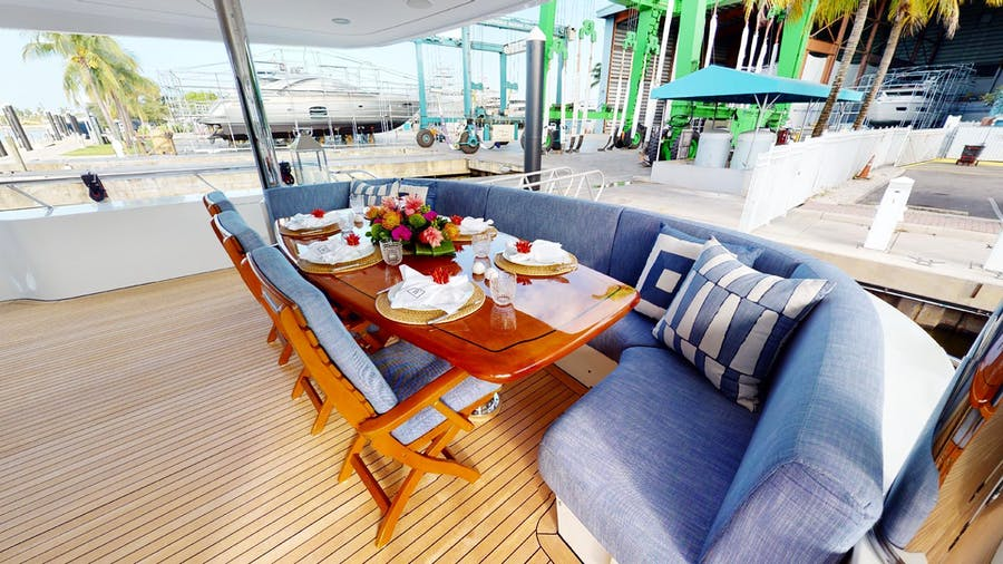 Features for WONDER Private Luxury Yacht For sale