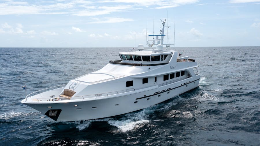 Features for EDISON Private Luxury Yacht For sale