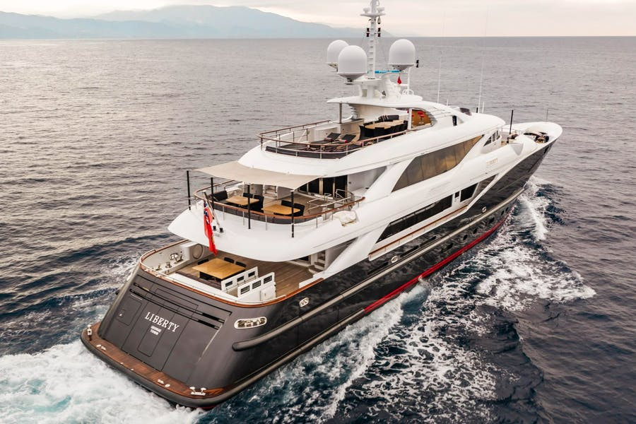 Features for LIBERTY Private Luxury Yacht For sale