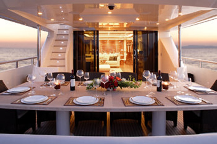 Tendar & Toys for DRAGON Private Luxury Yacht For charter